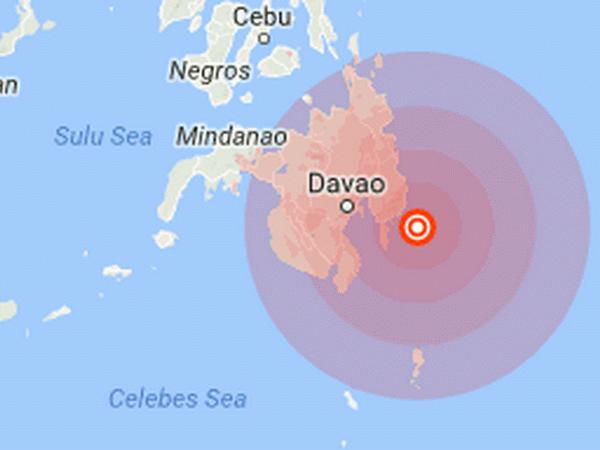 菲律宾发生6.1级地震 尚无伤亡 hinh anh 1
