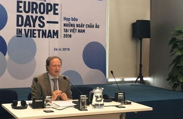 2018年欧洲图书日活动开幕在即 hinh anh 1