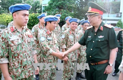 越南参与联合国维和行动的准备工作就绪 hinh anh 2