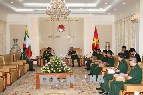 越南重视与缅甸的防务合作关系 hinh anh 1