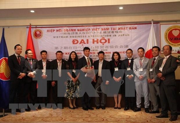 日本越南商会汇聚企业力量 hinh anh 1