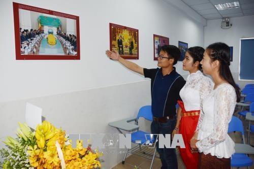 """柬埔寨大学""""越南之屋""""正式落成 hinh anh 2"""