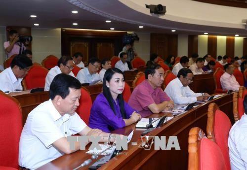 越共十二届中央委员会第七次全体会议第二天新闻公报 hinh anh 1