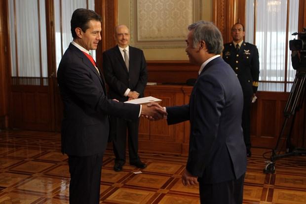 墨西哥总统承诺加强越墨多领域合作 hinh anh 1