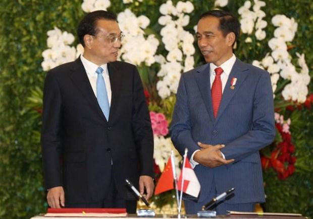 中国与印尼加强贸易关系 hinh anh 1