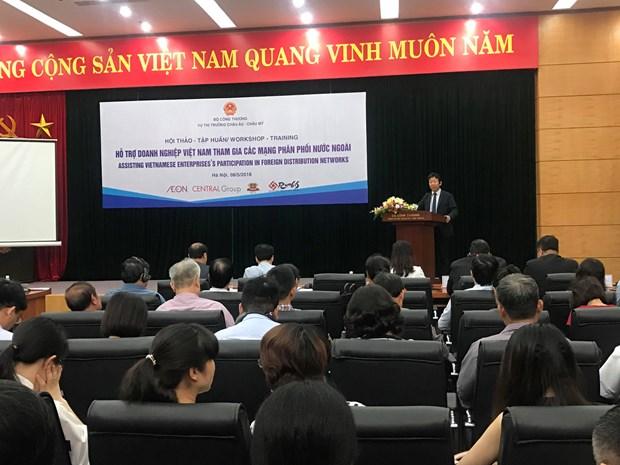 越南企业积极参与国外分销网络 hinh anh 1