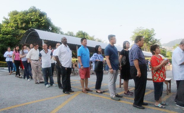 马来西亚国会下议院选举开锣 hinh anh 2