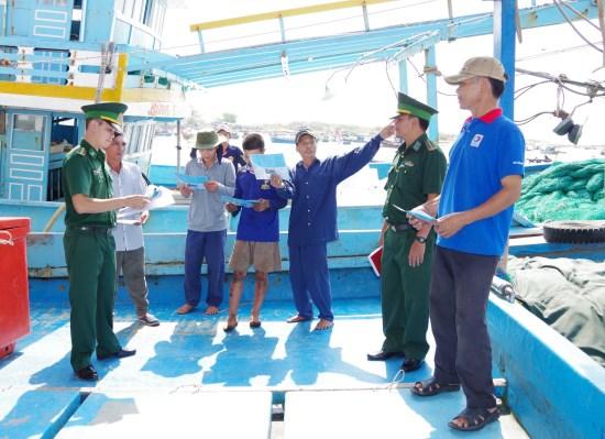 金瓯省采取强有力措施阻止渔民侵犯外国海域 hinh anh 1