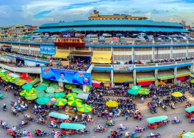 世界银行预计柬埔寨经济继续强劲增长 hinh anh 1