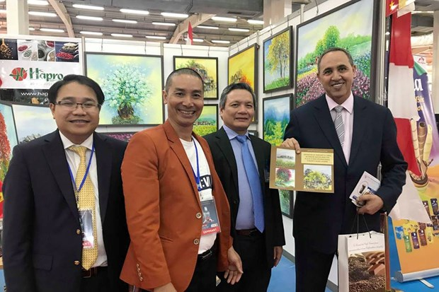 越南参加第51届阿尔及尔国际博览会 hinh anh 2
