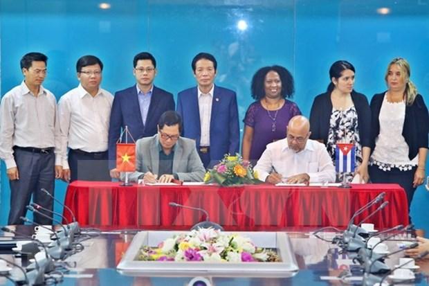 越南与古巴加强出版领域的合作 hinh anh 1