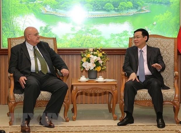 越南与巴西和美国促进投资合作 hinh anh 1