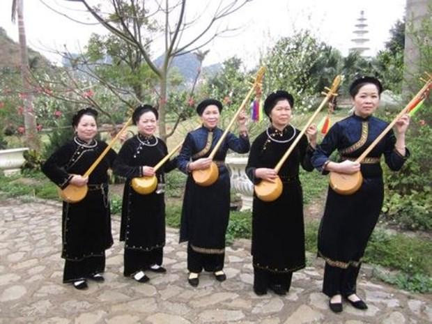 越南全国天曲天琴联欢准备就绪 hinh anh 1