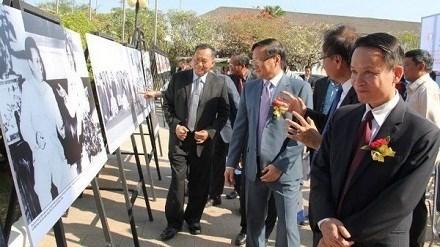 老挝总理出席老挝通讯社成立50周年庆祝活动 hinh anh 1