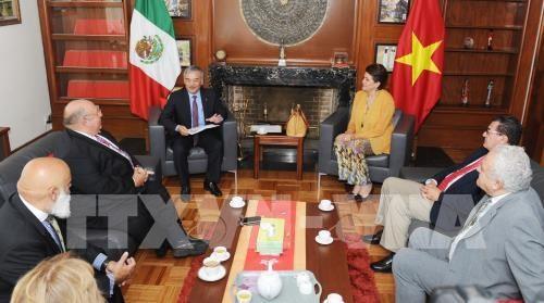 墨西哥劳动党总书记高度评价与越南的合作关系 hinh anh 1