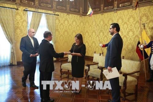厄瓜多尔与越南加强多领域合作 hinh anh 1