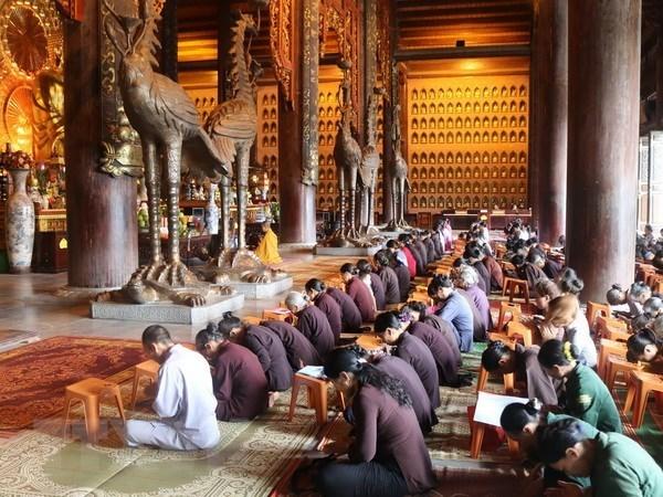 越南一向高度关注并为各宗教信仰创造一切便利条件 hinh anh 1