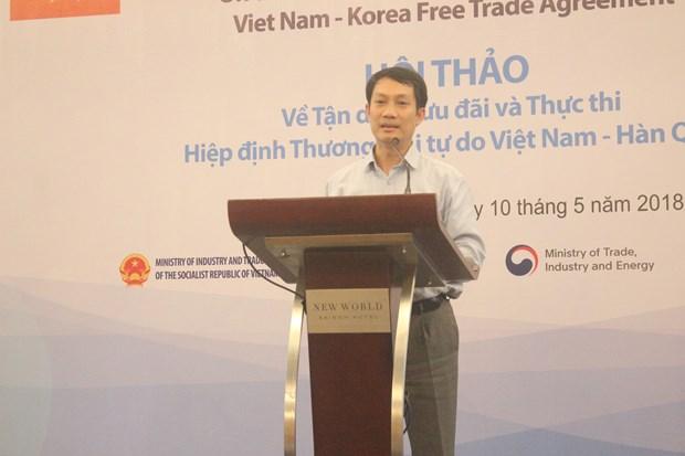 寻找措施充分利用《越南—韩国自由贸易协定》的税收优惠政策 hinh anh 2