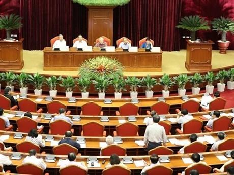 越共第十二届中央委员会第七次全体会议第五天新闻公报 hinh anh 1