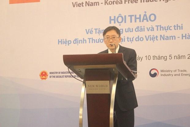寻找措施充分利用《越南—韩国自由贸易协定》的税收优惠政策 hinh anh 3