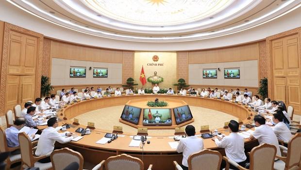 越南政府发表2018年4月例行会议决议 hinh anh 1