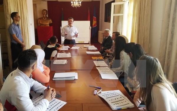 阿尔及利亚首个越南语培训班正式开班 hinh anh 1
