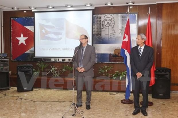 越南和古巴驻阿根廷大使馆加强交流活动 hinh anh 1
