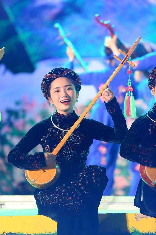 缤纷灿烂的2018年第六届全国天曲天琴艺术节在河江省举行 hinh anh 2