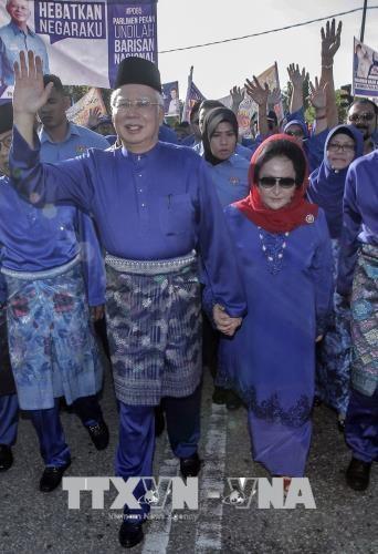 马来西亚前总理纳吉布及夫人被禁止出境 hinh anh 1