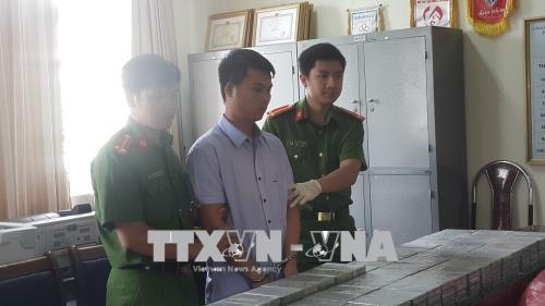 老街省警方破获史上最大毒品案件 缴获329块海洛因 hinh anh 1