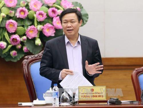 政府副总理王廷惠:完成企业国有资产管理委员会运作计划 hinh anh 1