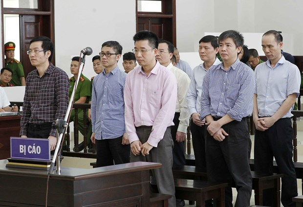 PVC案件二审宣判:维持对被告人丁罗升的一审判决 接受部分被告人的上诉 hinh anh 3