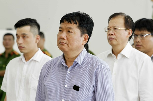 PVC案件二审宣判:维持对被告人丁罗升的一审判决 接受部分被告人的上诉 hinh anh 2