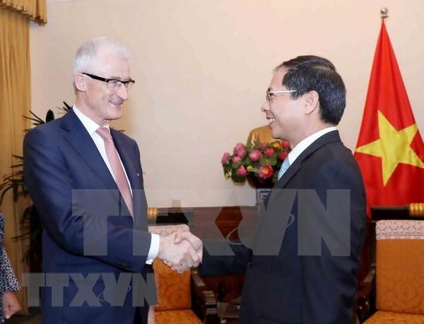 比利时法兰德斯大区始终将越南视为优先合作伙伴 hinh anh 1