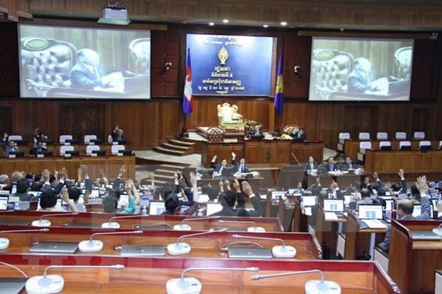 柬埔寨20个政党报名参加第六届国会选举 hinh anh 1