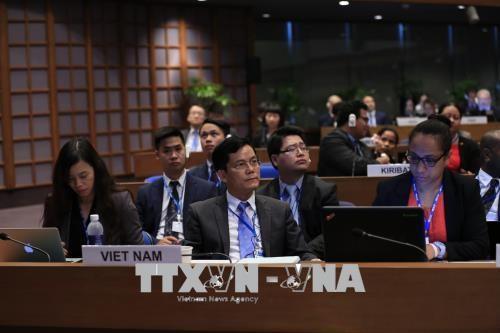 越南出席联合国亚太经社会第74届会议 hinh anh 2