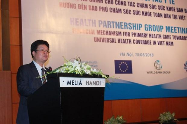 越南建设初级卫生保健财政机制 hinh anh 2