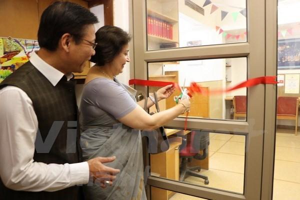 在印越南研究中心揭牌成立 hinh anh 1
