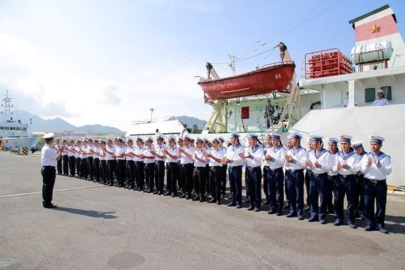 越南人民海军圆满完成2018年科摩多多国海军联演 hinh anh 1