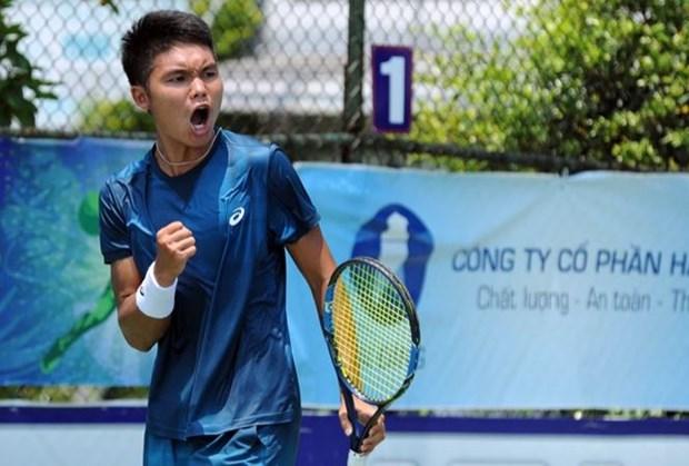 2018年越南男网F3未来赛:郑灵江击败2号种子晋级1/4决赛 hinh anh 1