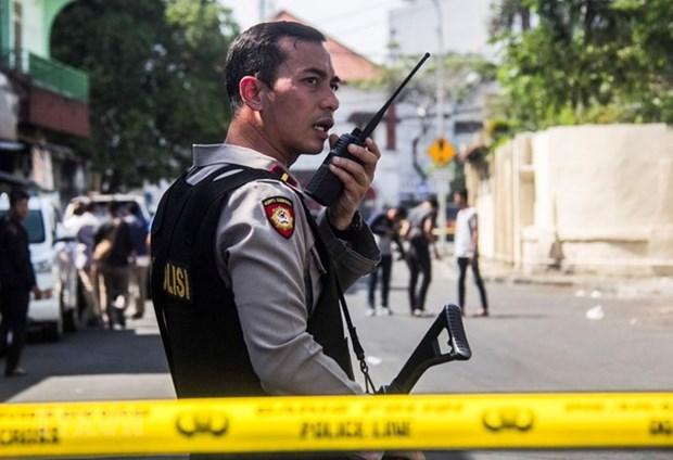 印度尼西亚警方逮捕三名袭击案嫌疑人 hinh anh 1