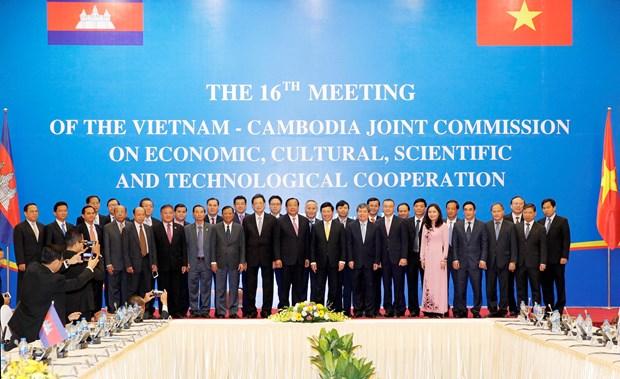越南与柬埔寨经济文化科技混合委员会第16次会议在河内举行 hinh anh 2
