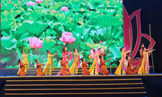 乂安省举行多项活动 庆祝胡志明主席诞辰128周年 hinh anh 2