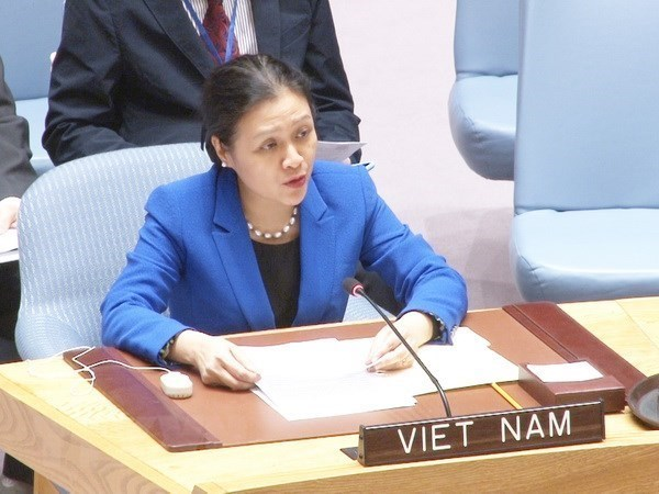 越南强调以和平措施解决争端的义务 hinh anh 1