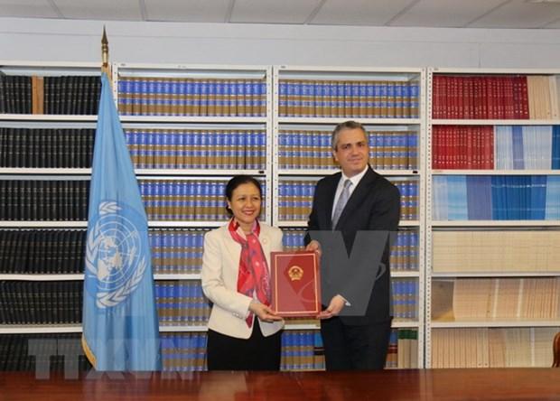 越南批准加入《禁止核武器条约》 hinh anh 1