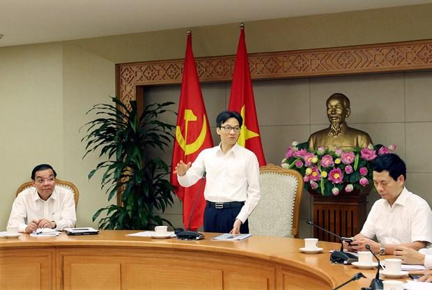 """武德儋副总理:""""越南数字化知识体系提案""""需要全社会的共同努力 hinh anh 2"""