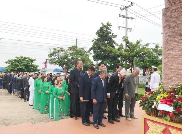 世界各地举行纪念胡志明主席诞辰128周年的活动 hinh anh 1