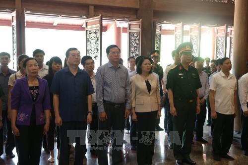 越南国家副主席邓氏玉盛:保卫胡志明主席遗体是无上光荣的任务 hinh anh 2