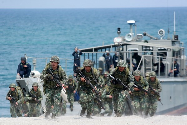 美国与菲律宾加强反恐信息互换 hinh anh 1