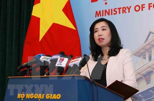 越南要求中国立即停止出动轰炸机在越南黄沙群岛开展训练 hinh anh 1